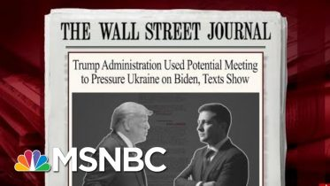 New Texts Show Pressure On Ukraine To Investigate Bidens | Morning Joe | MSNBC 6