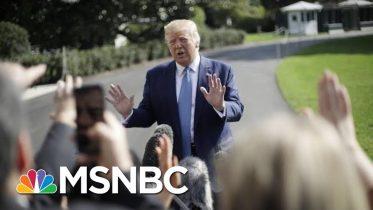 President Donald Trump: Biden Investigation Is About 'Corruption,' Not Politics | MSNBC 10