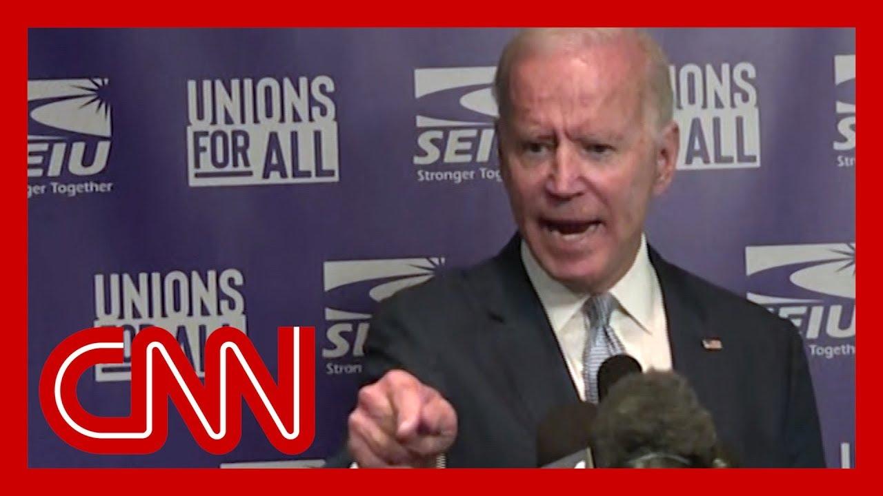 Joe Biden angrily fires back at Trump 1