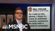 Chris Hayes On How The Text Messages Destroy Trump's Alibi  | All In | MSNBC 4