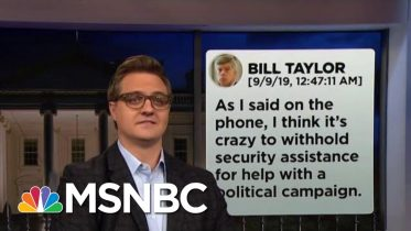 Chris Hayes On How The Text Messages Destroy Trump's Alibi | All In | MSNBC 6