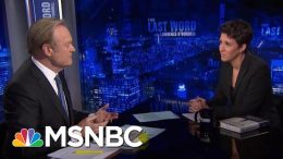 """Rachel Maddow On Her New Book """"Blowout"""" 