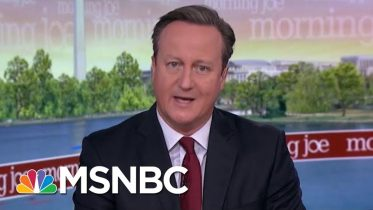 I Wouldn't Advise No Deal, Says Former PM David Cameron | Morning Joe | MSNBC 6
