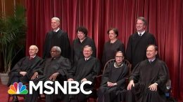 Supreme Court Convenes For New Term, Expected To Rule On DACA, Other Issues | Hallie Jackson | MSNBC 1