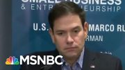 Why Are So Few Republicans Publicly Defending Trump? | Velshi & Ruhle | MSNBC 4