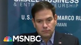 Why Are So Few Republicans Publicly Defending Trump? | Velshi & Ruhle | MSNBC 5