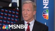 Tom Steyer: President Donald Trump Was A Fraud As A Businessman | Velshi & Ruhle | MSNBC 4