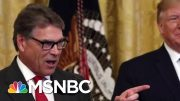 Trump's New Ukraine Scandal Defense: Rick Perry Made Me Do It | The Beat With Ari Melber | MSNBC 3