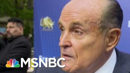 Former Rudy Giuliani Aide: He's Now 'A Right-Wing Conspiracy Nut' | The Beat With Ari Melber | MSNBC 5