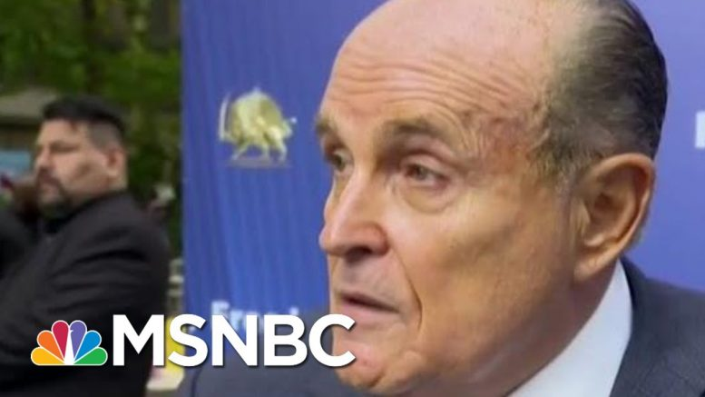 Former Rudy Giuliani Aide: He's Now 'A Right-Wing Conspiracy Nut' | The Beat With Ari Melber | MSNBC 1