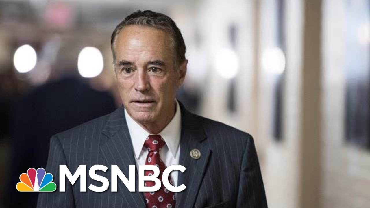 Rep. Chris Collins Resigns Ahead Of Expected Insider Trading Guilty Plea | Katy Tur | MSNBC 8