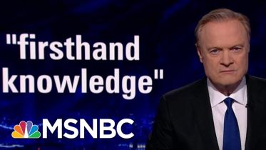 """Latest Whistleblower Has """"Firsthand Knowledge"""" Of Trump-Ukraine Controversy   The Last Word   MSNBC 5"""