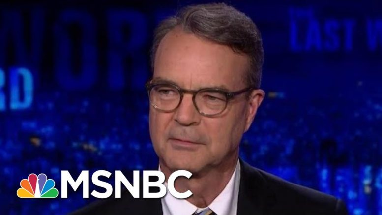New Book Debunks President Donald Trump's Deep State Conspiracy | The Last Word | MSNBC 1