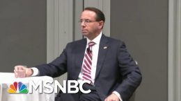 Rosenstein Thought Two Cabinet Officials Would Help Remove Trump From Office | The Last Word | MSNBC 1