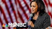 Kamala Harris Addresses Alleged Sex Assault Where Her Husband Works | Hallie Jackson | MSNBC 3