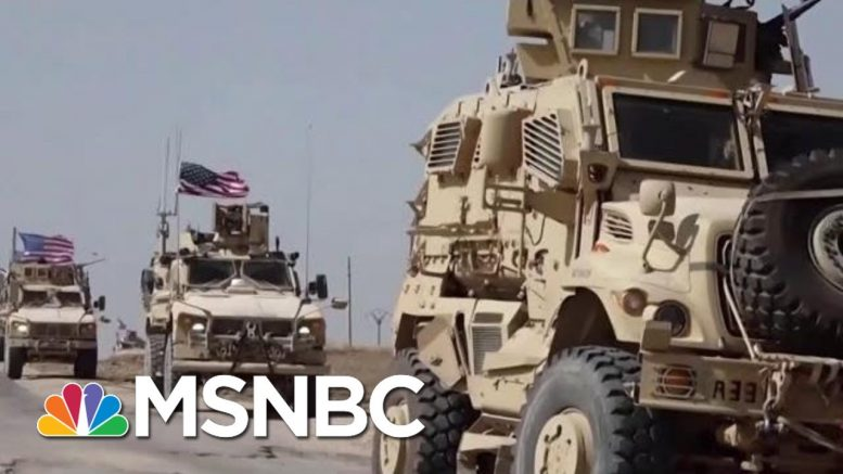 Official: No U.S. Troops Are Leaving Syria | Velshi & Ruhle | MSNBC 1