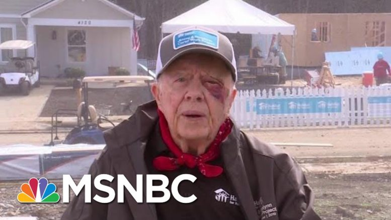 Jimmy Carter: 'The White House Is Trying To Stonewall' | Andrea Mitchell | MSNBC 1