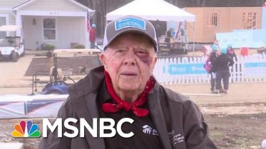 Despite A Black Eye And 14 Stitches, 95-Year-Old Jimmy Carter Builds Homes For Habitat For Humanity 6