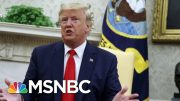 Poll: Nearly Two-Thirds Of Americans Support Impeachment Inquiry | Deadline | MSNBC 4