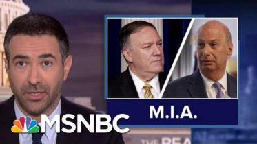 Dems Dial Up Heat In Impeachment Probe As Trump Stonewalls Text Message Evidence | MSNBC 6