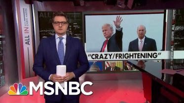 Hayes: The Key To What Trump Is Hiding Lies In The Man He Wouldn't Let Testify | All In | MSNBC 10