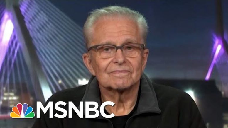 "Laurence Tribe: Trump ""Is Not Above The Law And He Will Learn His Lesson"" 