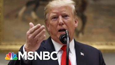 Trump's White House Is Ready To Go To War With Democrats Over Impeachment | The 11th Hour | MSNBC 6