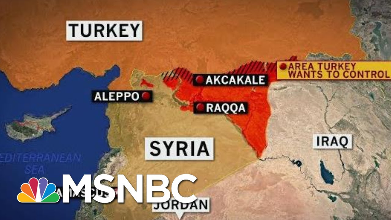 Turkey Begins Airstrikes And Operations In Northern Syria | Velshi & Ruhle | MSNBC 9