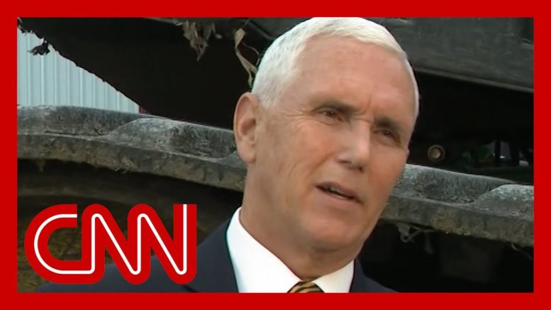 Mike Pence's Ukraine denial stuns Anderson Cooper 1