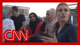 Fleeing civilians tell CNN they don't know where to go as Turkey attacks 3