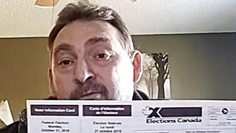 British citizen living in Alberta receives Canadian voter card 1