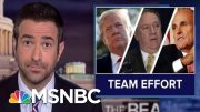 Widening Ukraine Scandal Ensnares Trump Aides And 'Angry' AG | The Beat With Ari Melber | MSNBC 5