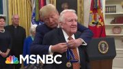 Ed Meese An Unlikely Recipient Of Honor ...Except By Trump | Rachel Maddow | MSNBC 2