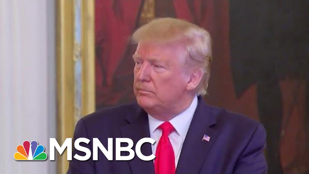 White House Refuses To Cooperate With Impeachment Probe | Velshi & Ruhle | MSNBC 1