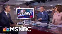 Bipartisan Senators Push For Laws To Block Foreign Election Interference | Velshi & Ruhle | MSNBC 9