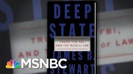 Trump Claims He's The FBI's Cheerleader Despite His War On Justice & Rule Of Law | Deadline | MSNBC 3