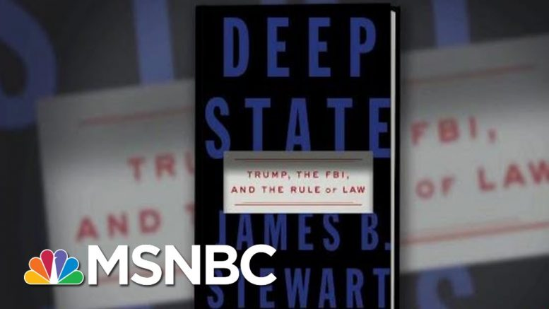 Trump Claims He's The FBI's Cheerleader Despite His War On Justice & Rule Of Law | Deadline | MSNBC 1