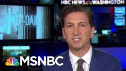 Whistleblower's Attorney Refutes Reports That Client Was Involved In Politics | MTP Daily | MSNBC 3