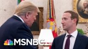 Facebook: President Donald Trump Can Lie All He Wants | All In | MSNBC 4