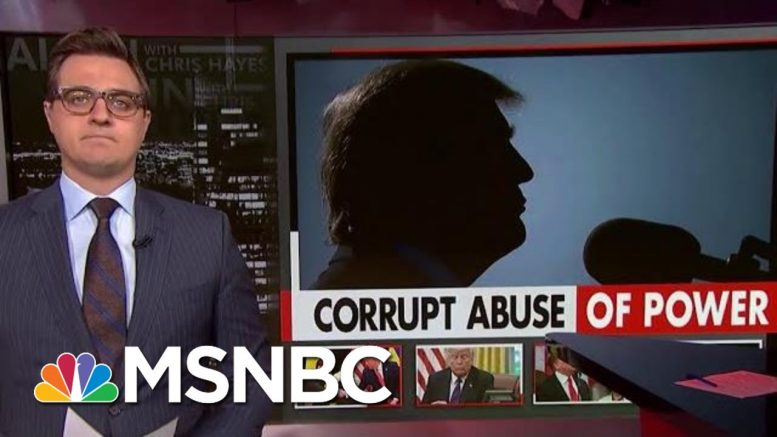 Chris Hayes: The Sheer Scope Of Trump's Corruption Keeps Unfolding | All In | MSNBC 1