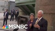 Watch: Pence Evades Repeated Questions On Trump's Ukraine Plot | The Beat With Ari Melber | MSNBC 2