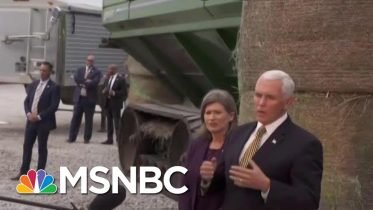 Watch: Pence Evades Repeated Questions On Trump's Ukraine Plot | The Beat With Ari Melber | MSNBC 6