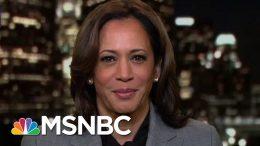 Kamala Harris On President Donald Trump Impeachment Investigation | The Last Word | MSNBC 9