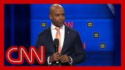 Human Rights Campaign President speaks before CNN town hall 3