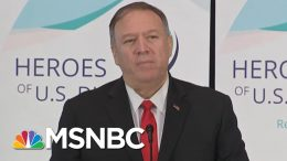 Trump's Ukraine Phone Call: Mike Pompeo Was In The Room Where It Happened | The 11th Hour | MSNBC 6