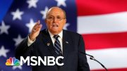 Two Giuliani Ukraine Associates Arrested On Campaign Finance Charges | Velshi & Ruhle | MSNBC 5