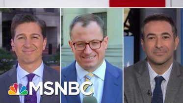 Why 2 Arrested Rudy Giuliani Associates Are Key For Impeachment Inquiry   Velshi & Ruhle   MSNBC 5