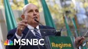 Criminal Behavior? Rudy Giuliani Associates Charged - The Day That Was | MSNBC 2