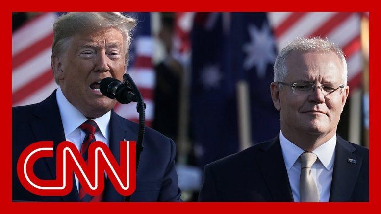 Trump pressed Australia to help investigate Russia probe origin, source says 1