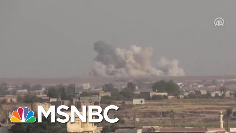 U.S. Troops Reportedly Devastated Over Syria Pullout | Velshi & Ruhle | MSNBC 1